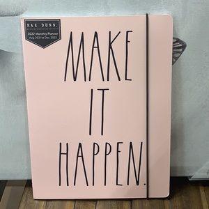 Rae Dunn monthly planner new Make It Happen